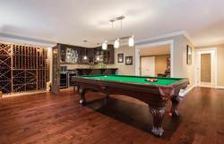 Recreation Room & Entertainer's Bar | Edgemont Family Home | North Vancouver at 4565 Ranger Avenue, Canyon Heights NV, North Vancouver
