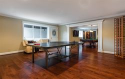Games Room | Edgemont Family Home | North Vancouver at 4565 Ranger Avenue, Canyon Heights NV, North Vancouver