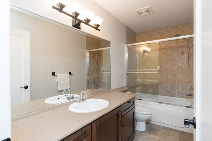 Chamberlain | Lynn Valley | Family Home | Bathroom | Double Cul de Sac at 1466 Chamberlain Drive, Lynn Valley, North Vancouver