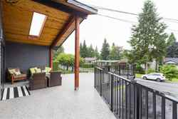 Wellington | Lynn Valley | Family Home | Covered Deck at 1358 Wellington Drive, Lynn Valley, North Vancouver