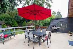 Wellington   Lynn Valley   Family Home   Back Sun Deck at 1358 Wellington Drive, Lynn Valley, North Vancouver