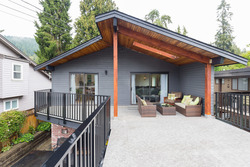 Wellington   Lynn Valley   Family Home   Covered Deck at 1358 Wellington Drive, Lynn Valley, North Vancouver
