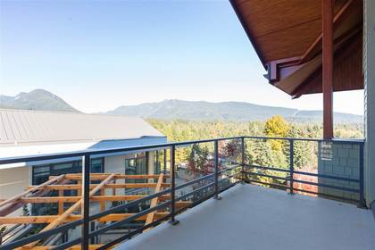 The Residences at Lynn Valley | Condo | Penthouse | Balcony at 702 - 2738 Library Lane, Lynn Valley, North Vancouver