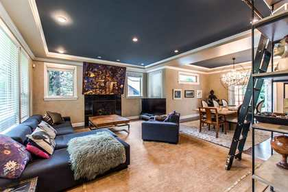 Lynn Valley | Living Room at 1311 Appin Road, Westlynn, North Vancouver
