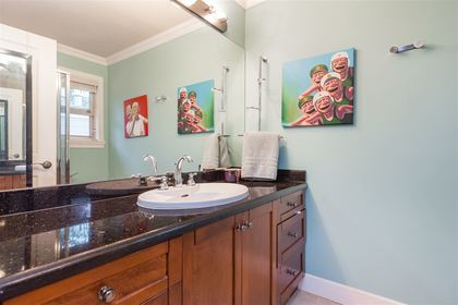 Lynn Valley | Family Home | Bathroom at 1311 Appin Road, Westlynn, North Vancouver