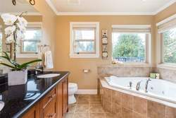 Lynn Valley | Family Home | Master Ensuite Bath at 1311 Appin Road, Westlynn, North Vancouver