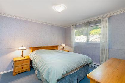 Upper Delbrook   Family Home   Basement Bedroom at 304 Monteray Avenue, Upper Delbrook, North Vancouver