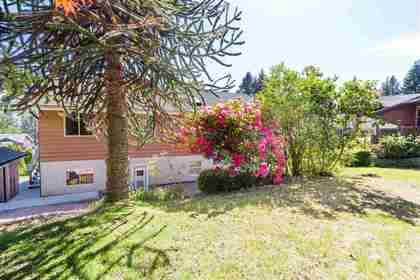 Upper Delbrook   Family Home   Backyard at 304 Monteray Avenue, Upper Delbrook, North Vancouver