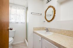Upper Delbrook   Family Home   Basement Bath at 304 Monteray Avenue, Upper Delbrook, North Vancouver