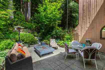 Lynn Valley | Townhome | Back Patio at 1530 Mcnair Drive, Lynn Valley, North Vancouver