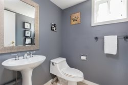 Lynn Valley | Townhome | Powder Room at 1530 Mcnair Drive, Lynn Valley, North Vancouver