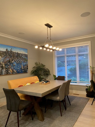 dining-room at 1840 Appin Road, Westlynn, North Vancouver
