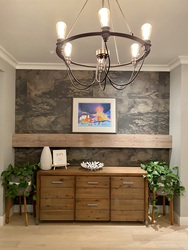 entry-feature-wall at 1840 Appin Road, Westlynn, North Vancouver