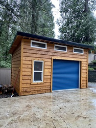 New Shed at 1840 Appin Road, Westlynn, North Vancouver