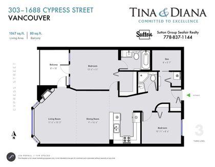 1688-cypress-street-kitsilano-vancouver-west-21 at 303 - 1688 Cypress Street, Kitsilano, Vancouver West