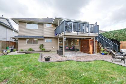 Rear view from back yard at 20429 115 Avenue, Southwest Maple Ridge, Maple Ridge