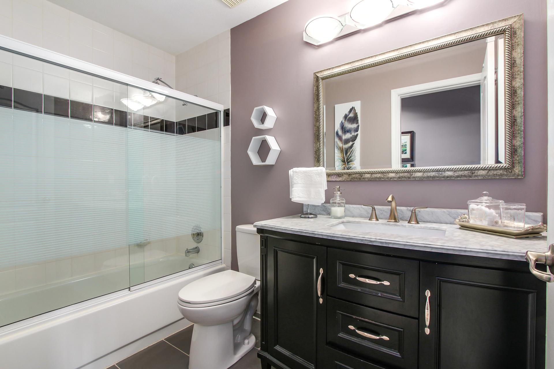 Bathroom at 20429 115 Avenue, Southwest Maple Ridge, Maple Ridge