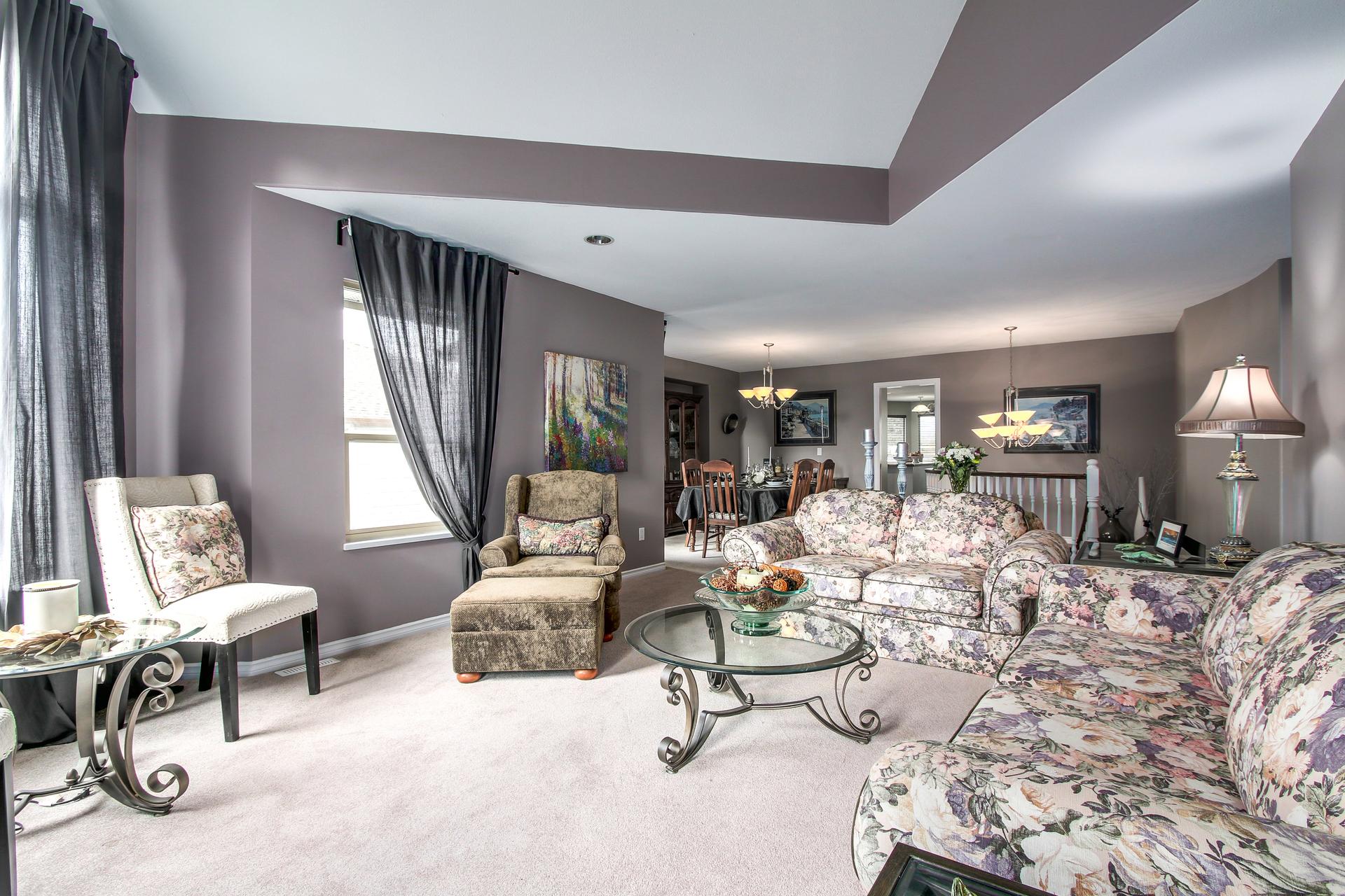 Living room at 20429 115 Avenue, Southwest Maple Ridge, Maple Ridge