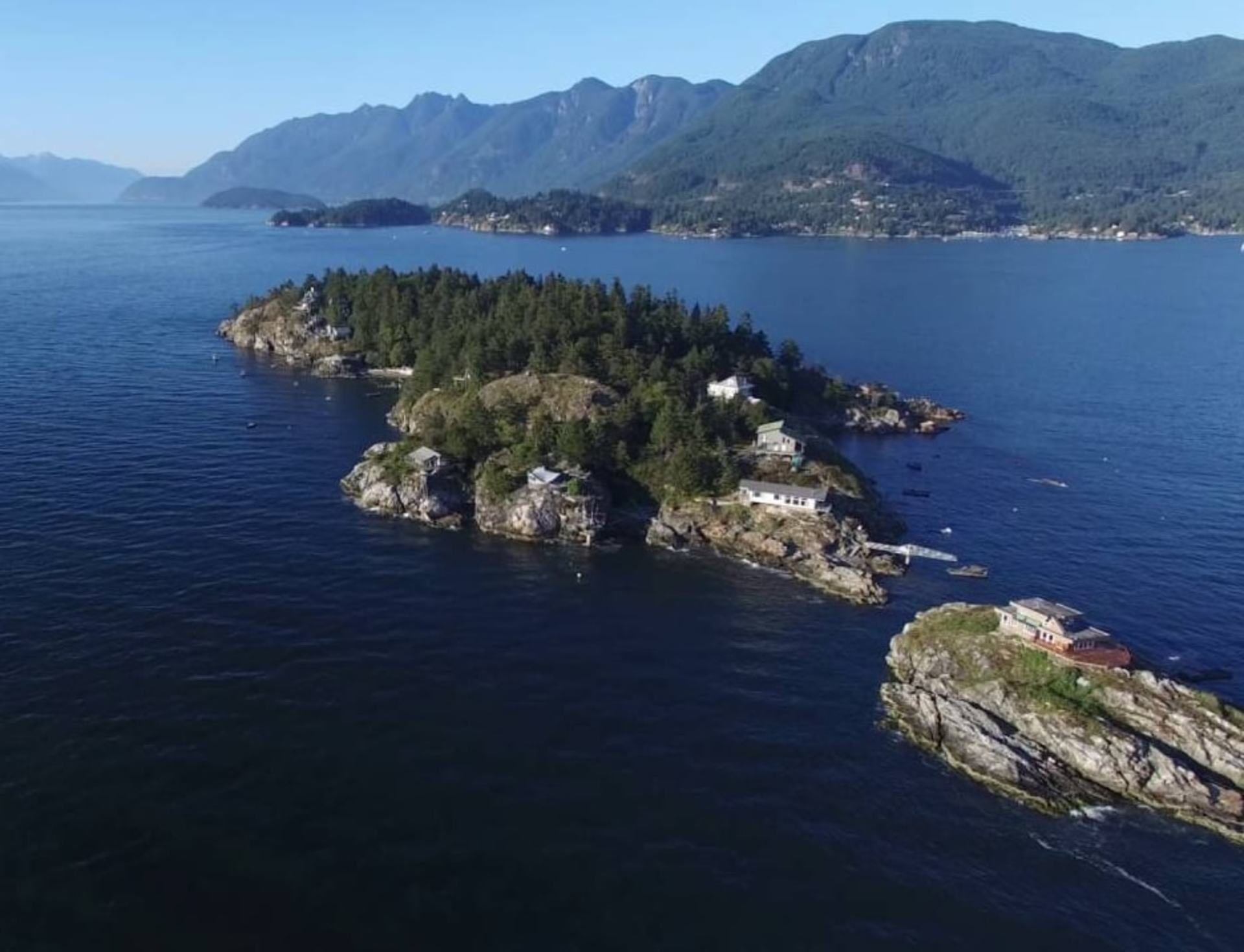 cut at 38 Passage Island, Howe Sound, West Vancouver