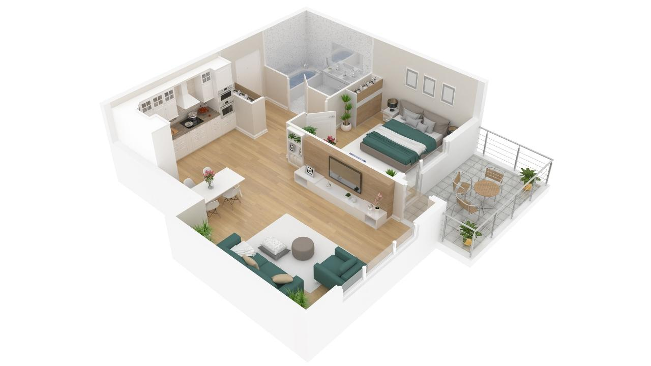 3D Floorplans for Condos