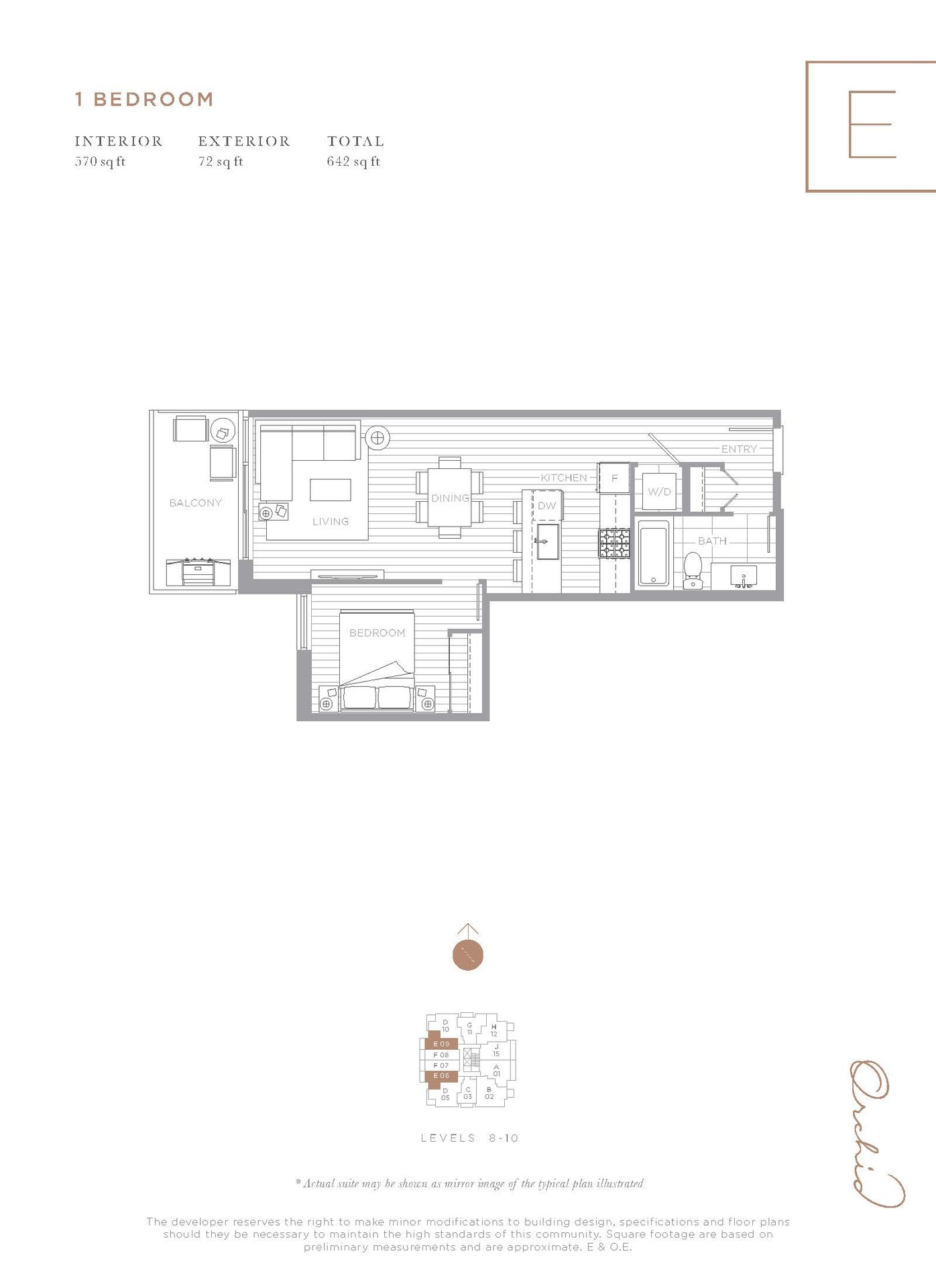 floor-plan at #909 - 5580 No 3 Road,