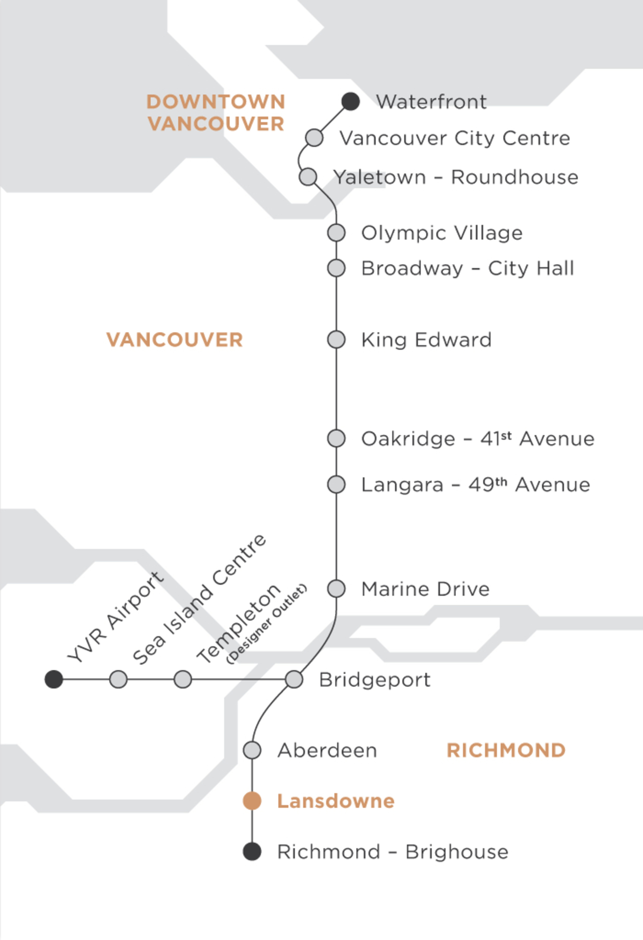 orchid-transit-map-lg at #909 - 5580 No 3 Road,