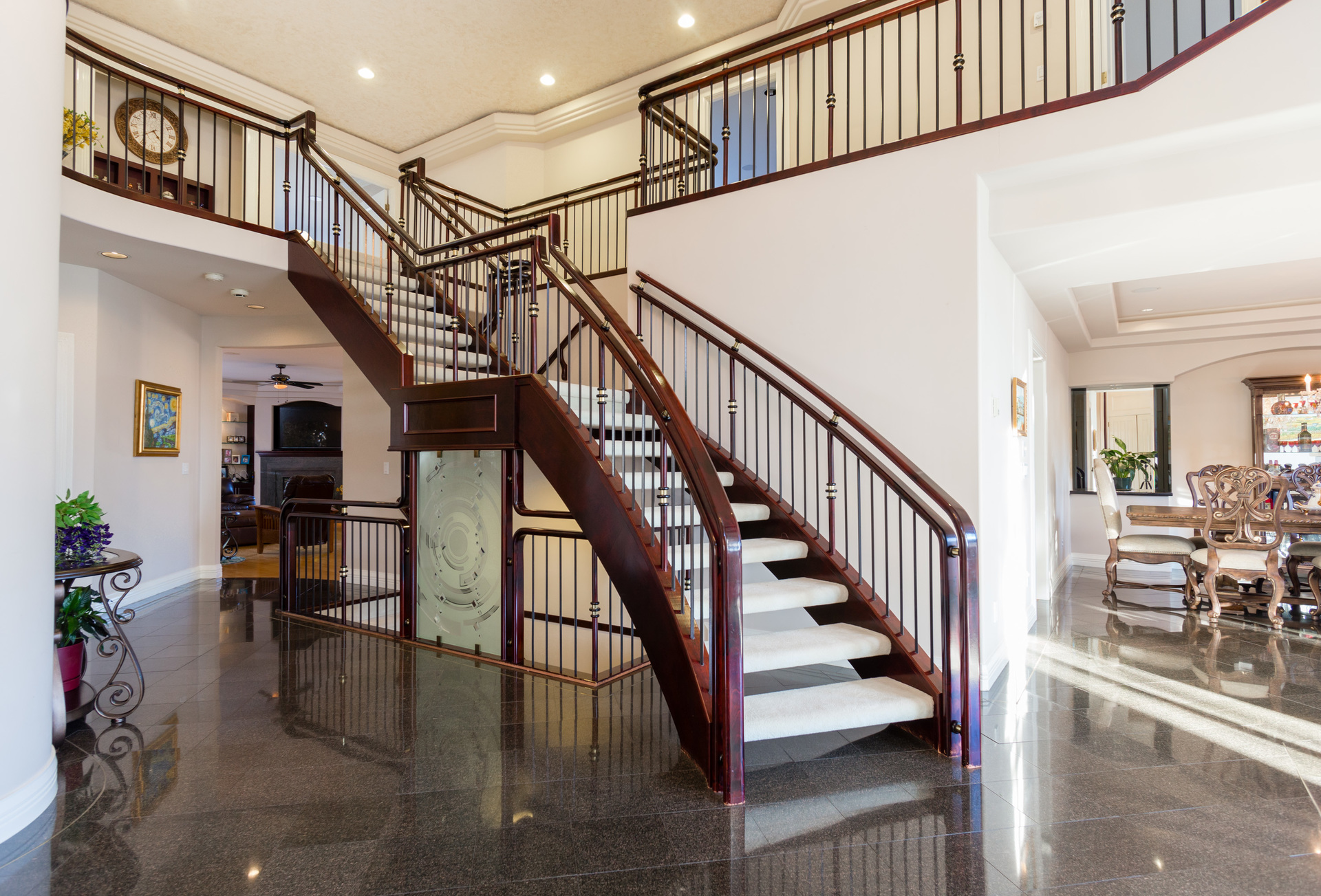 Front Entrance Foyer at 3083 Carousel Court, Westwood Plateau, Coquitlam