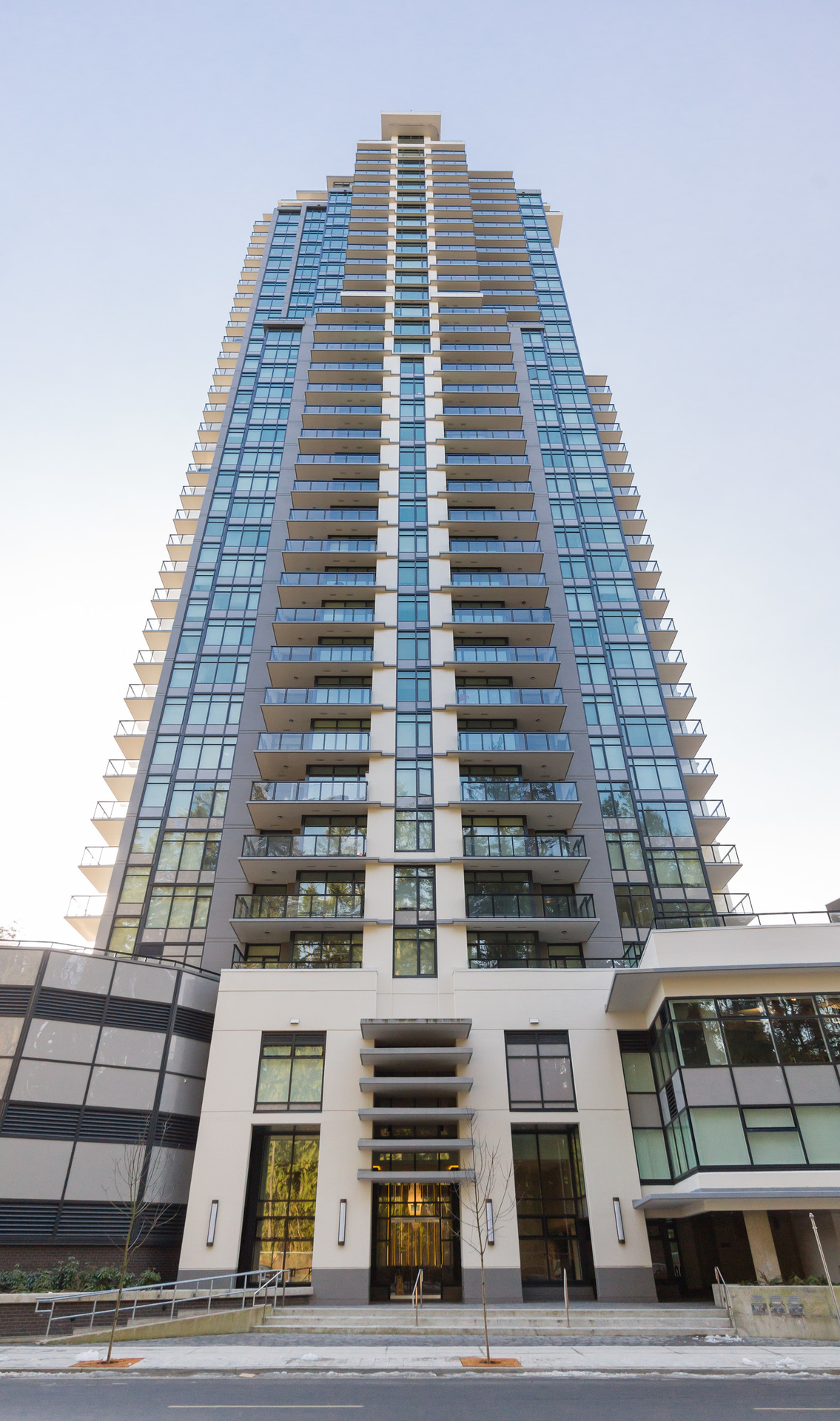 Front View at 2205 - 3080 Lincoln, North Coquitlam, Coquitlam
