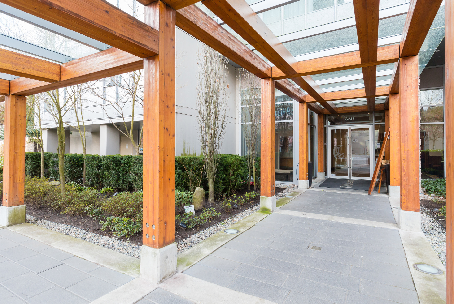 Front Entrance at 1902 - 660 Nootka Way, Port Moody Centre, Port Moody