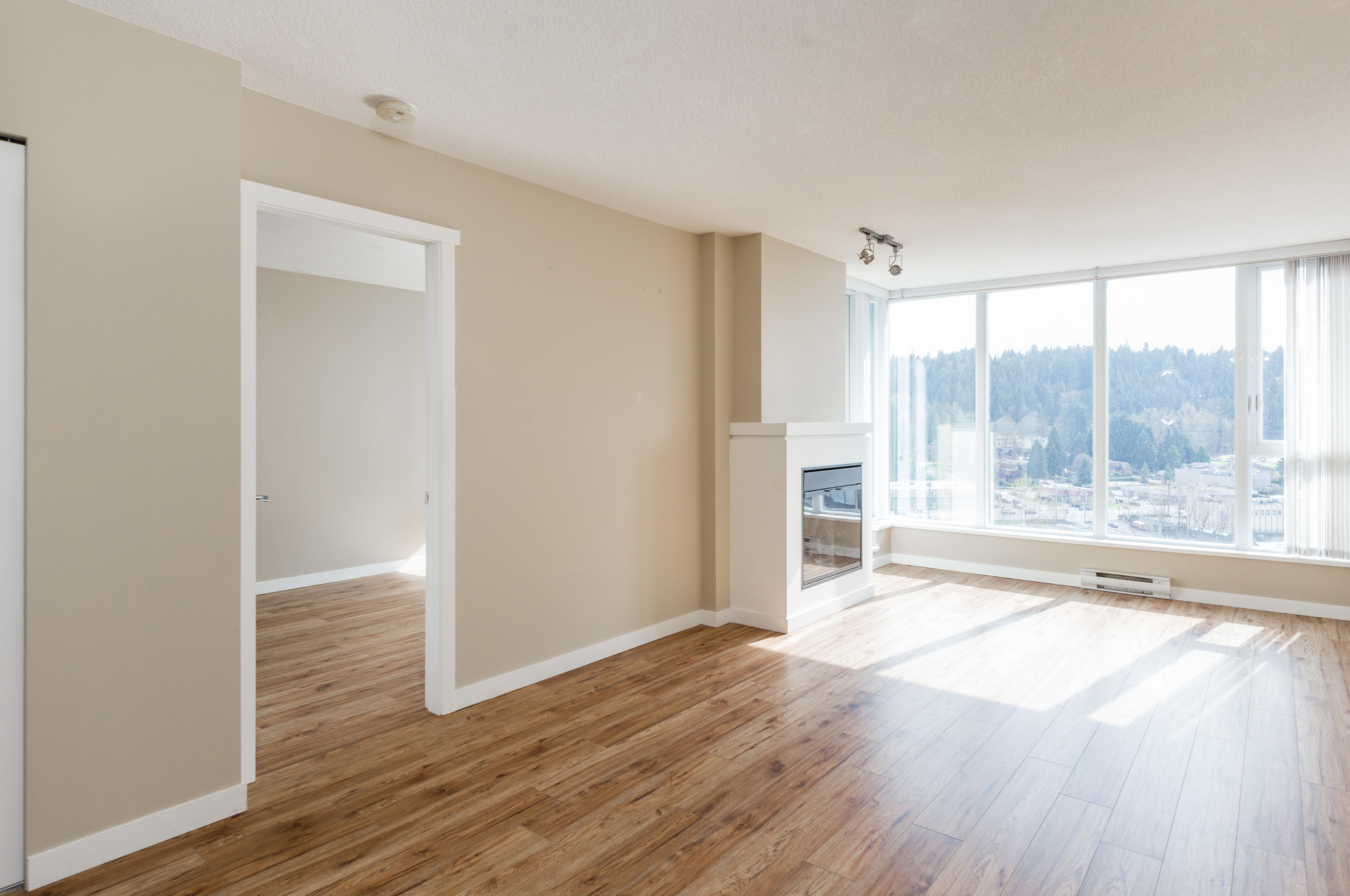 Living Room at 1902 - 660 Nootka Way, Port Moody Centre, Port Moody