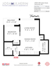 floor-plan-branded at 1605 - 68 Smithe Street, Downtown VW, Vancouver West