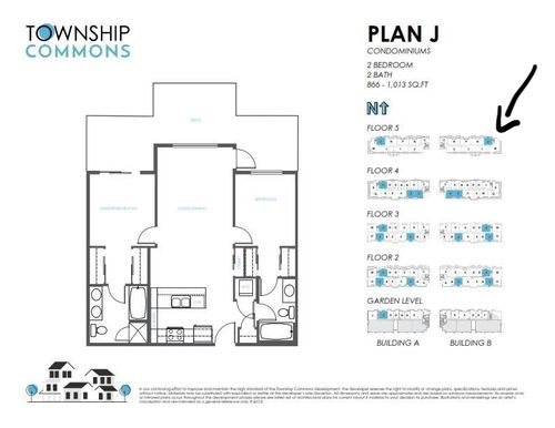 floorplan at B519 - 20487 65 Avenue, Willoughby Heights, Langley