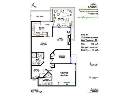V998699_A01_94 at 301 - 2271 Bellevue Avenue, Dundarave, West Vancouver