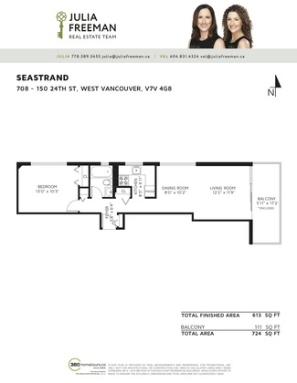 floor-plan-708-150-24th-st at 708 - 150 24th Street, Dundarave, West Vancouver