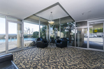 Lobby at 708 - 150 24th Street, Dundarave, West Vancouver
