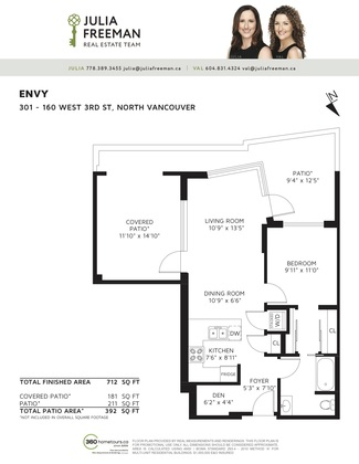 floor-plan-301-160-w-3rd-st-jpeg at 301 - 160 West 3rd Street, Lower Lonsdale, North Vancouver