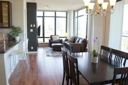 Bright living space with tons of windows at 1606 - 2355 Madison Avenue, Brentwood Park, Burnaby North