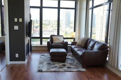 Lots of room in the living room for big furniture if you want at 1606 - 2355 Madison Avenue, Brentwood Park, Burnaby North