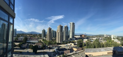 Gorgeous open mountain and skyline view at 1606 - 2355 Madison Avenue, Brentwood Park, Burnaby North