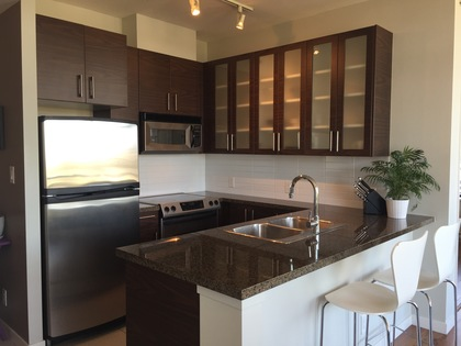 Lots of kitchen storage at 1606 - 2355 Madison Avenue, Brentwood Park, Burnaby North