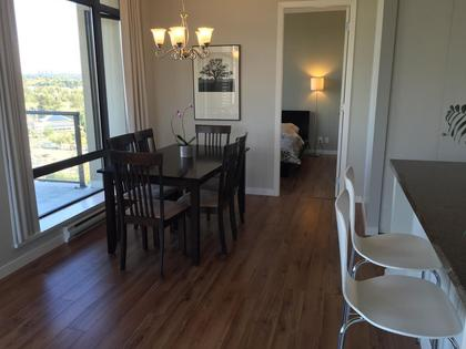 Open plan layout at 1606 - 2355 Madison Avenue, Brentwood Park, Burnaby North