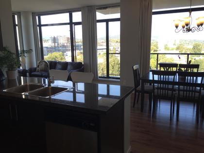 Great open layout for entertaining at 1606 - 2355 Madison Avenue, Brentwood Park, Burnaby North