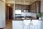 Open plan kitchen at 1606 - 2355 Madison Avenue, Brentwood Park, Burnaby North