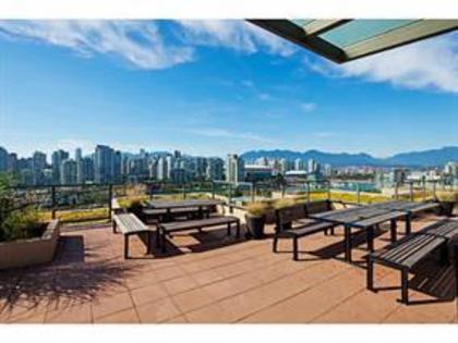 roof deck 2 at 711 - 288 W 1st Avenue, False Creek, Vancouver West