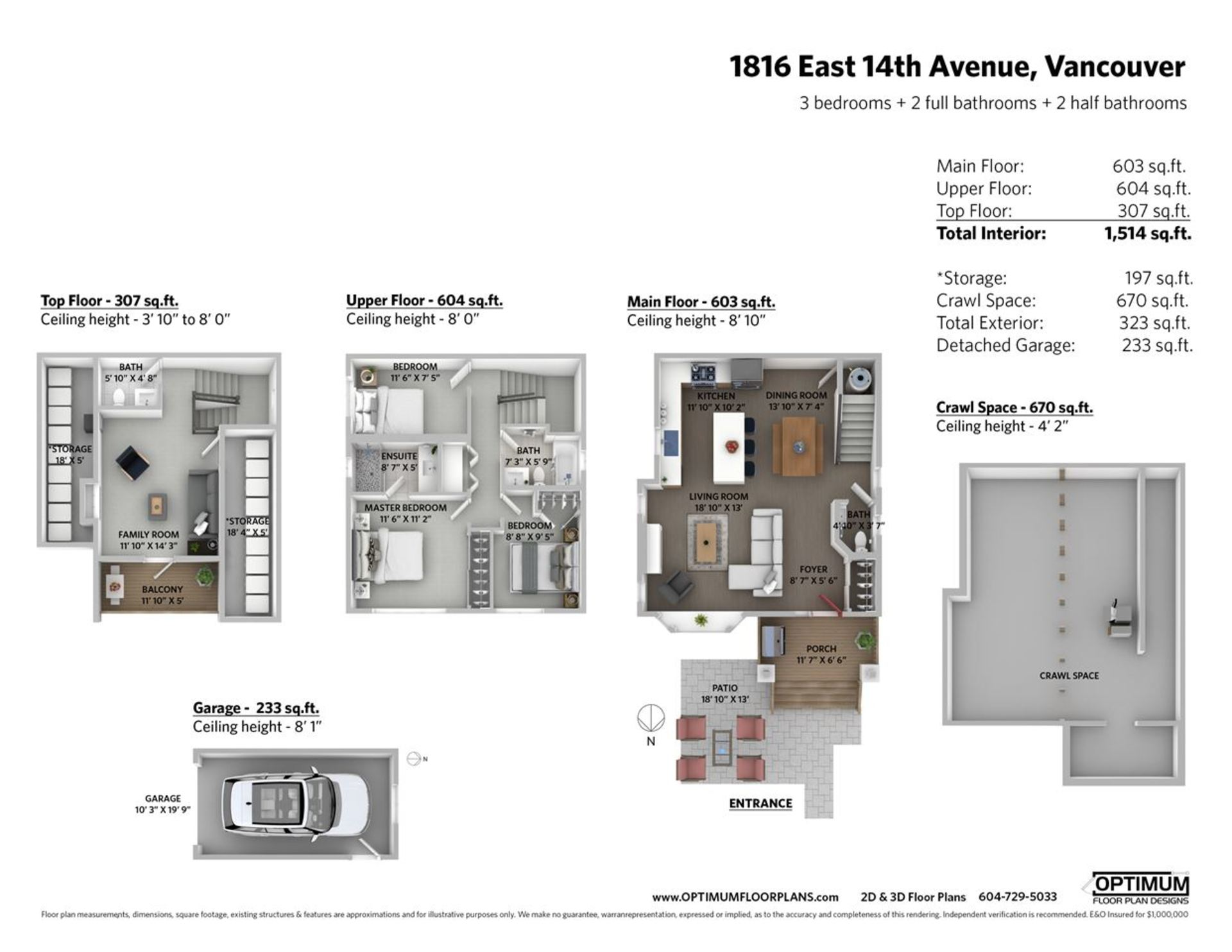floorplan at 1816 E 14th Avenue, Grandview VE, Vancouver East
