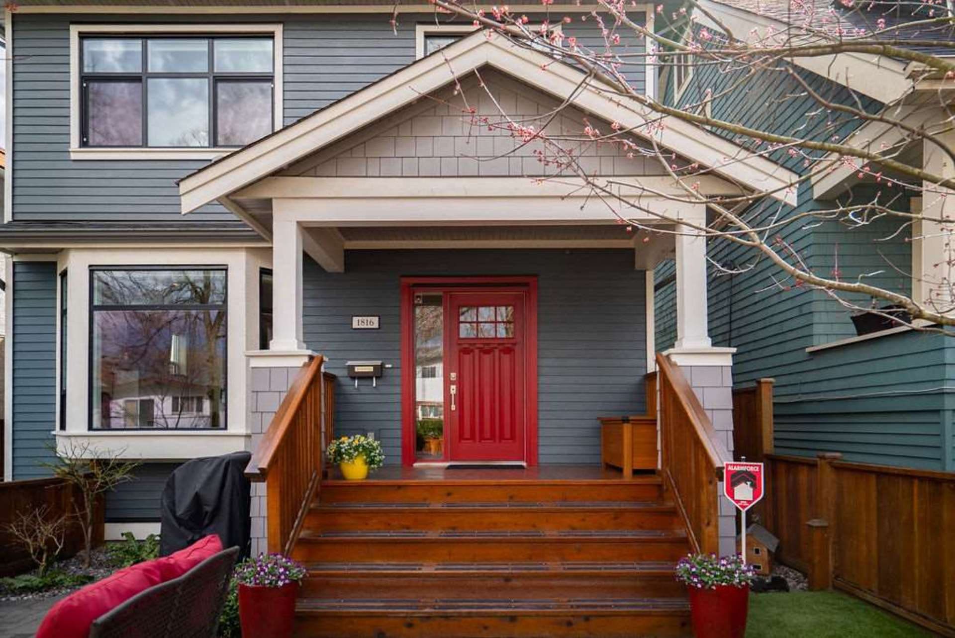 front-door at 1816 E 14th Avenue, Grandview VE, Vancouver East