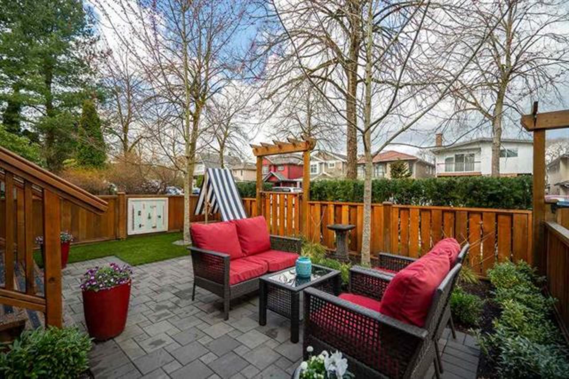 patio at 1816 E 14th Avenue, Grandview VE, Vancouver East