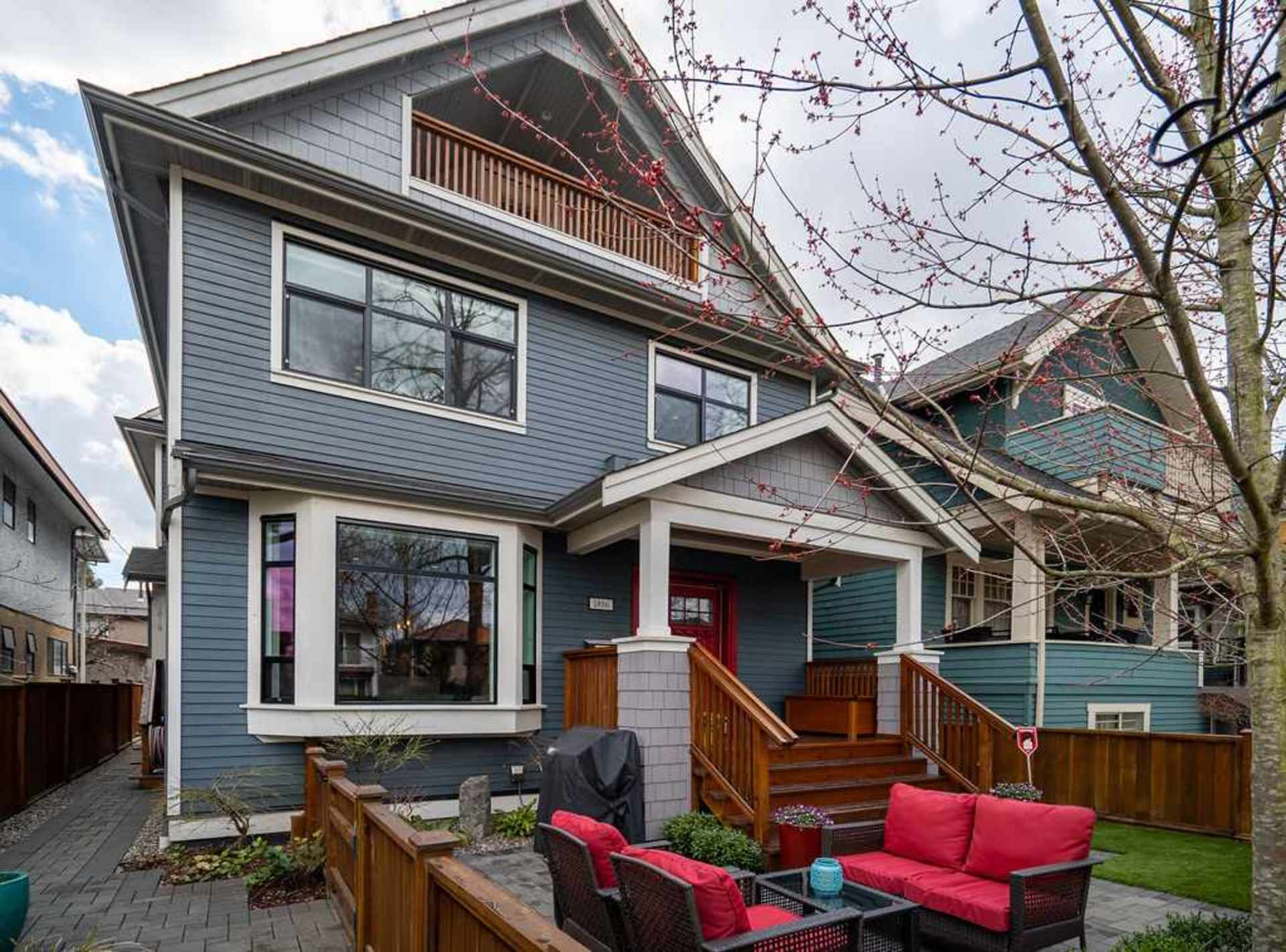 rear-exterior at 1816 E 14th Avenue, Grandview VE, Vancouver East