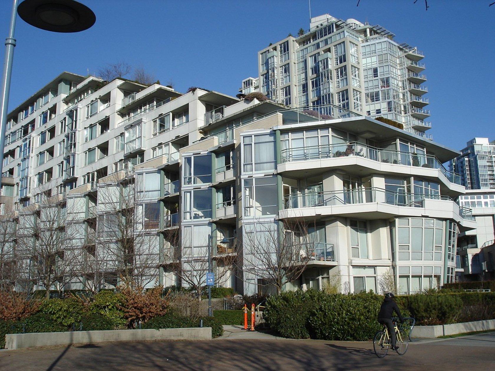 crestmark_one_big at 1288 Marinaside Crescent, Yaletown, Vancouver West