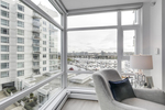 8 at 803 - 1199 Marinaside Crescent, Yaletown, Vancouver West